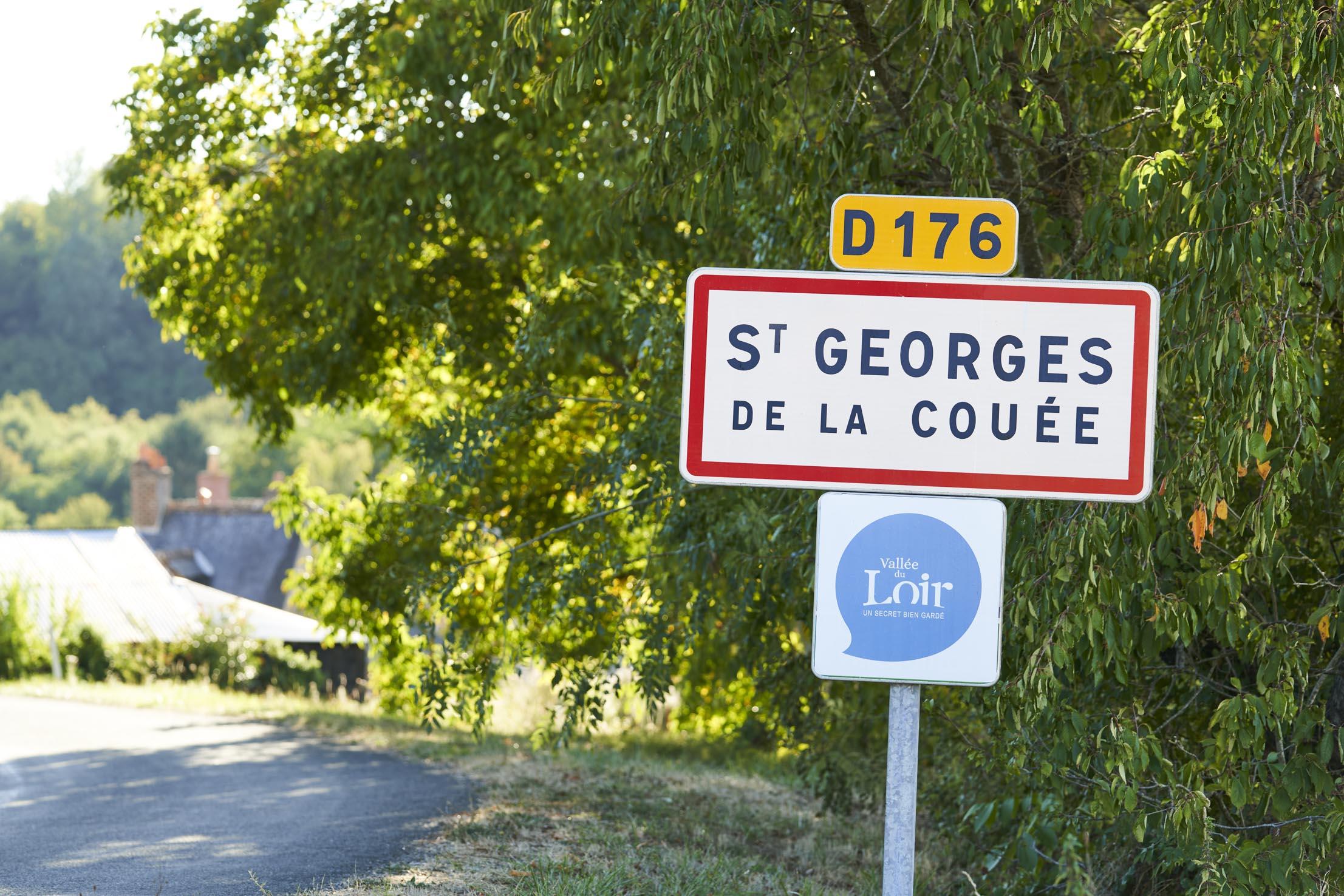 Tourisme en vallée du loir visitez Saint Georges de la Couée - Commune de Sarthe