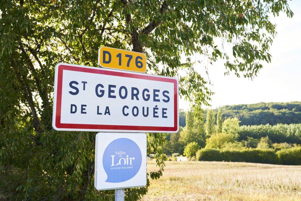 Saint Georges de la Couée village touristique en Sarthe