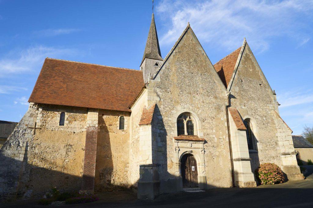 Eglise Saint Georges de la Couée - patrimoine culturel de Sarthe