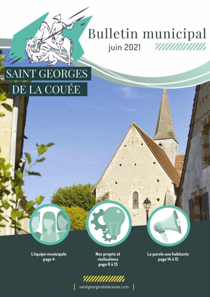 Saint Georges de la Couée bulletin municipal